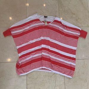 Tommy Bahama NWT $122 Oversized Striped Sweater